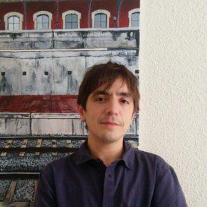 Lucas Martín, autor de Cuaderno intervenido. Libros Prohibidos