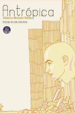 Antrópica portada. Libros Prohibidos.