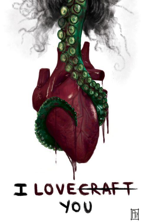 Combustible Lovecraft. Love. Libros Prohibidos
