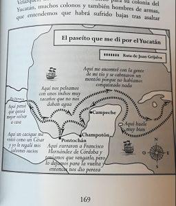 Conquistadores secundarios. Mapa. Libros Prohibidos