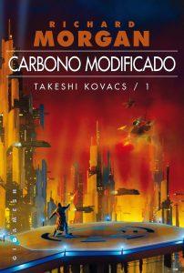 Portada Carbonomodificado. Libros Prohibidos