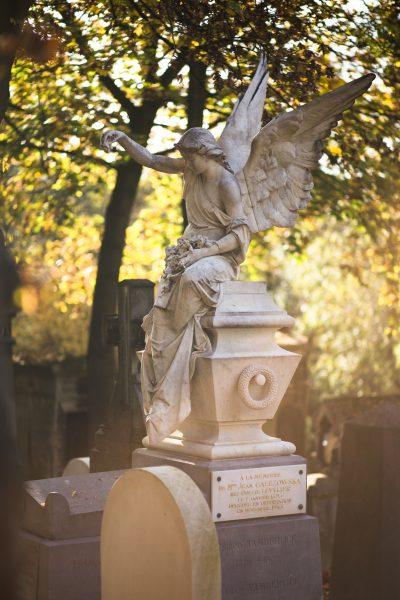 El pasado es un cazador paciente. Cementerio. Libros Prohibidos