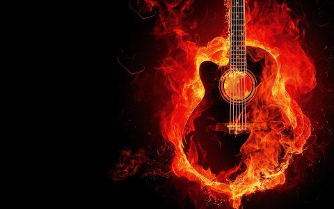 La balada de Tom el Negro. Guitarra. Libros Prohibidos