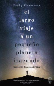 """Portada de """"El largo viaje a un pequeño planeta iracundo"""""""