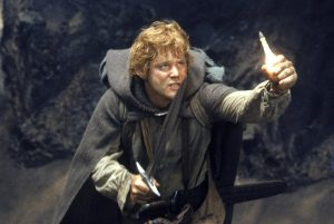 Sam Gamyi con la luz de Eärendil