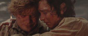 Frodo y Sam al final de El Retorno del Rey