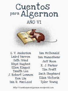 Cuentos para Algernon año VI Libros prohibidos Cuentos para Algernon
