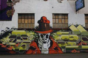 Graffiti rorschach, zombi. Libros Prohibidos