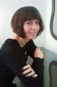 Celia Añó, autora de Aracnefobia