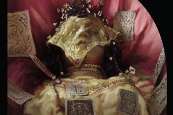 Máscara de la muerte, portada. Libros Prohibidos