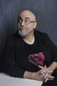 Rodolfo Martínez, escritor español de fantasía y ciencia ficción. Fotografía de Lau Cleo.
