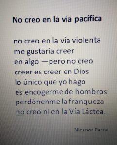 Versos exosfera, Nicanor Parra. Libros Prohibidos