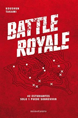 Battle Royale. Portada. Libros prohibidos
