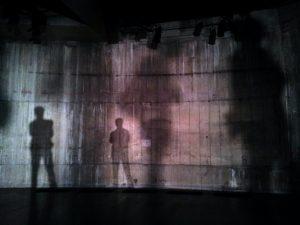 Sombras sobre una pared