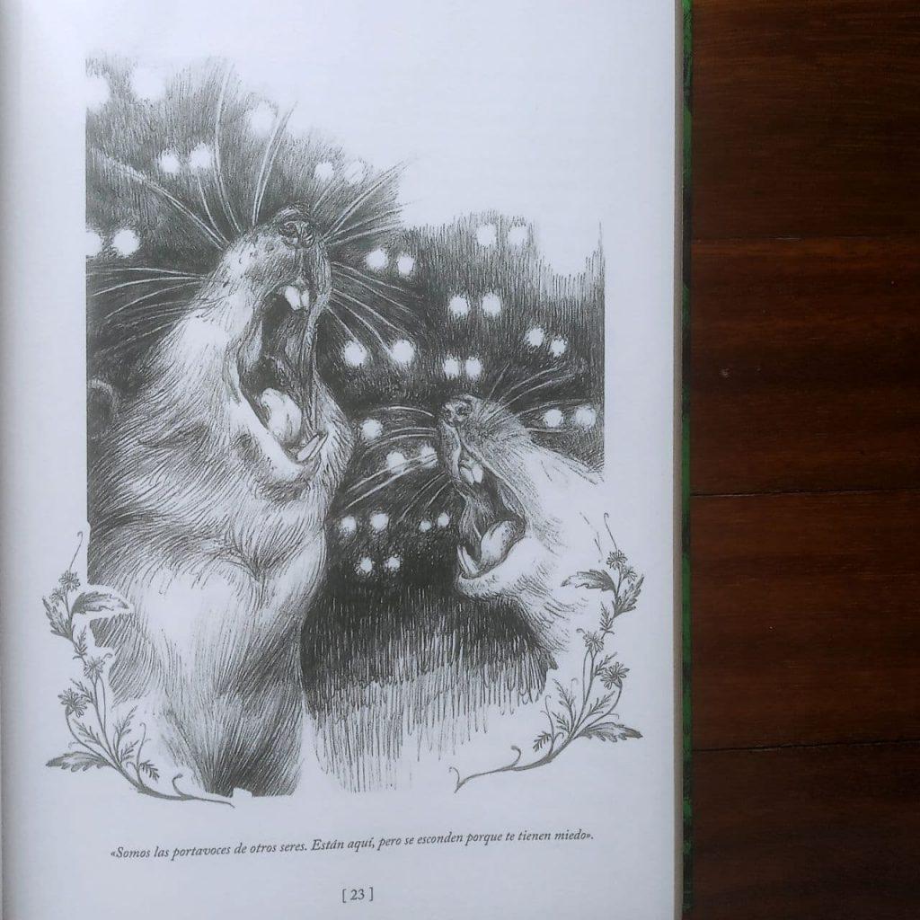 Donde no se aventuran las hadas. Ilustración. Libros prohibidos