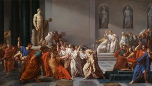 Dijo destruye, Política, Julio César. Libros Prohibidos