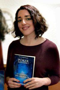 Verónica Cervilla y su novela Póker Kingdom